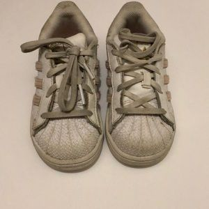Girl Adidas Sneakers Size 9